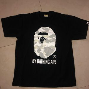 OG BAPE T-SHIRT GLOW IN THE DARK